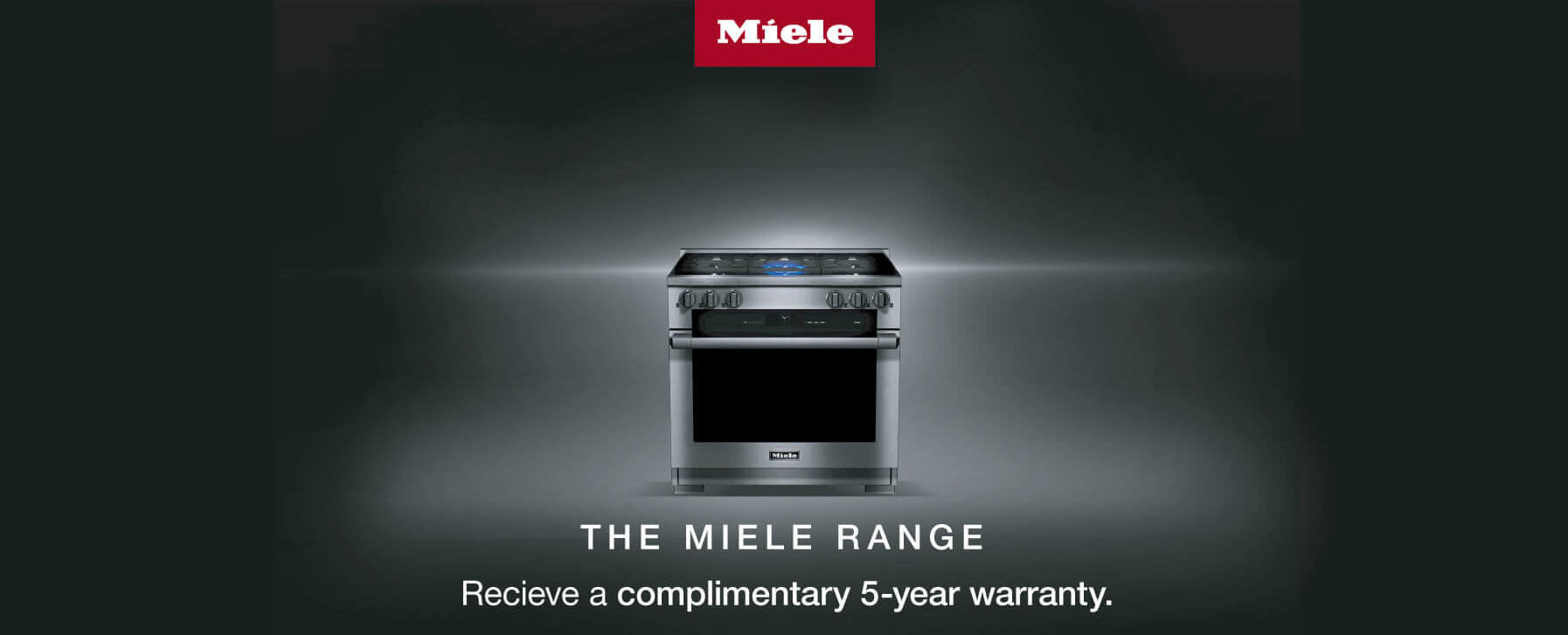 Miele 5 year warranty promo